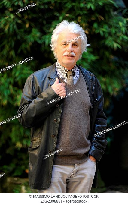 Michele Placido; Placido; actor and director; celebrities; 2015;rome; italy;event; photocall; la scelta