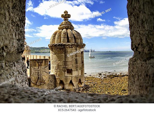 Tower of Belem, Santa Maria de Belem, Lisbon, Portugal