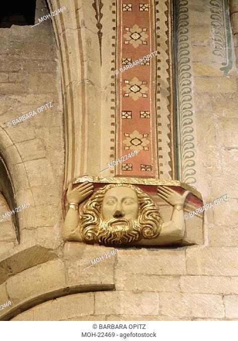 Tewkesbury, Abteikirche/Konsolenfigur