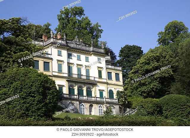 Villa Pallavicino, Stresa, Verbano-Cusio-Ossola, Piedmont, Italy.