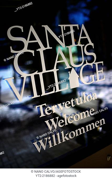 Official Hometown of Santa Claus in Rovaniemi, Lapland, Finland