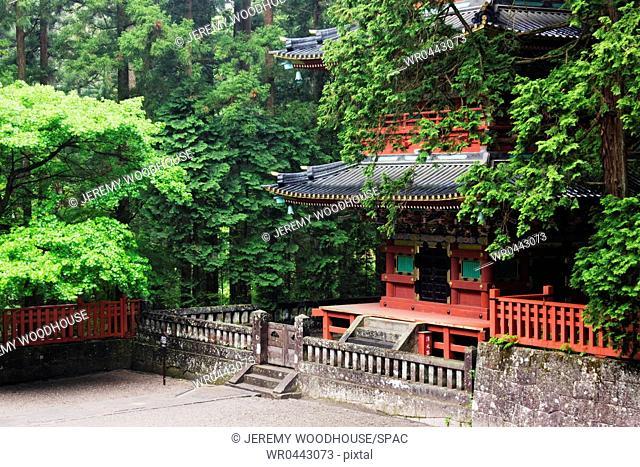 Base Floor of an Asian Pagoda