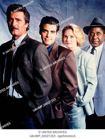 BODIES OF EVIDENCE, TV-Serie USA 1992-1993, LEE HORSLEY, GEORGE CLOONEY, KATE McNEIL, AL FANN