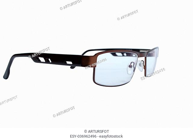 Glases isolated on white