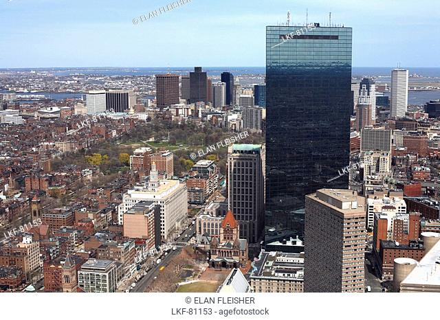 Cityscape with John Hancock Tower, Boston, Massachusetts, USA