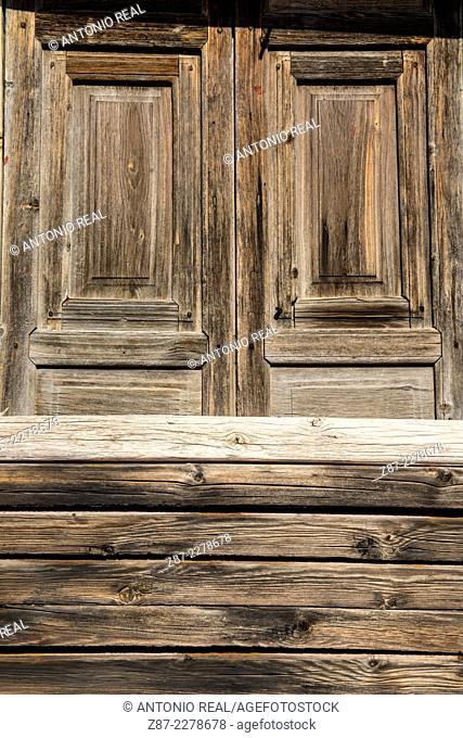 Window, Almansa, Albacete province, Castilla-La Mancha, Spain