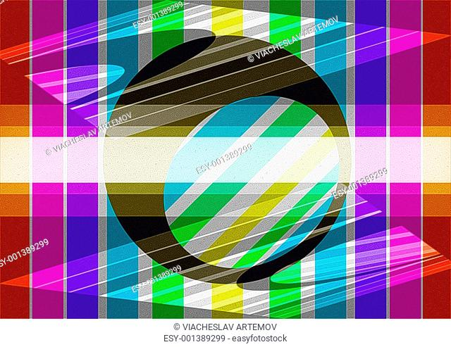 Abstract background with the form