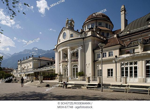 Italien S-Tirol Meran Kurhaus v SO. Eröffnet 1914