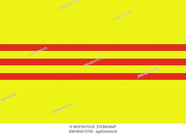 flag of South Vietnam, Suedvietnam