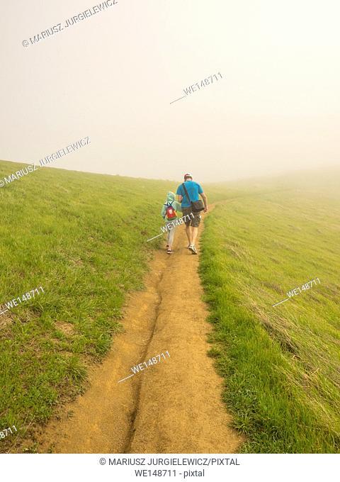 Russian Ridge Open Space Preserve is a regional park located in the Santa Cruz Mountains in San Mateo County, California along the San Francisco Peninsula