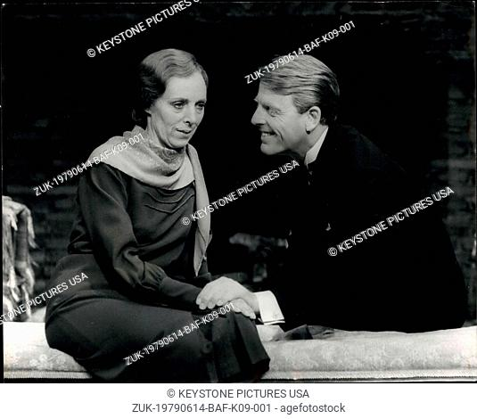 Jun. 14, 1979 - Edward Fox in 'The Family Reunion': Edward Fox is to star in the T.S. Eliot play,' The Family Reunion' which opens at the Vaudeville Theater on...