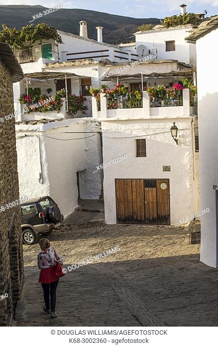 Village of Capileira, Alpujarras, Spain