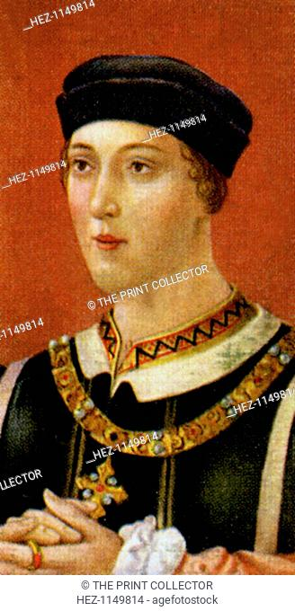 King Henry VI. Henry (1421-1471) was King of England from 1422 to 1461 (though with a Regent until 1437) and then from 1470 to 1471