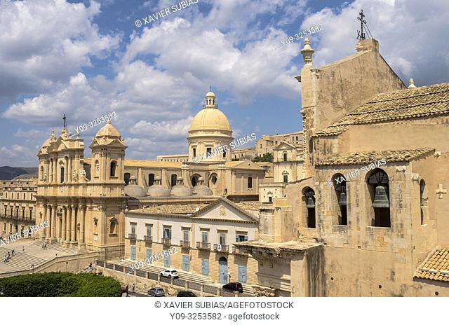 Cathedral, Noto, Siracusa, Sicily, Italy
