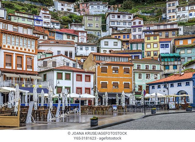 Cudillero, Asturias, Spain, Europe