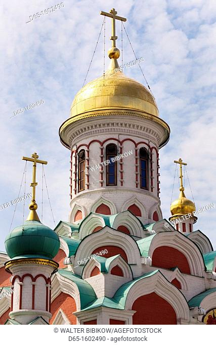 Russia, Moscow Oblast, Moscow, Red Square-area, Kazan Cathedral