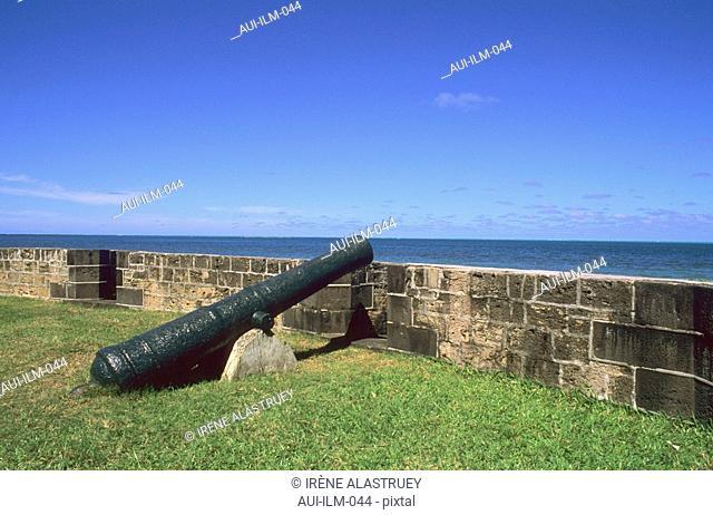 Mauritius - East Region - Pointe du Diable - fortification