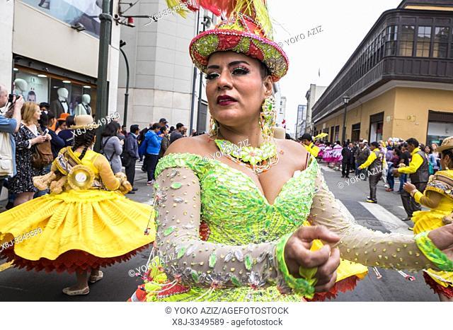 Peru, Lima, loca festival
