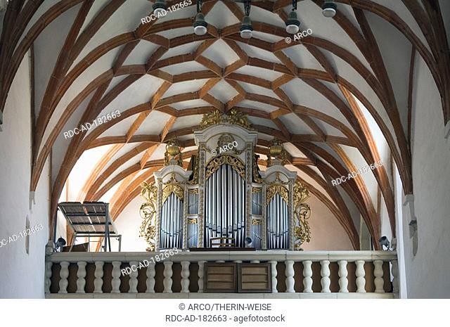 Organ of Fortified church, Prejmer, Transylvania, Romania