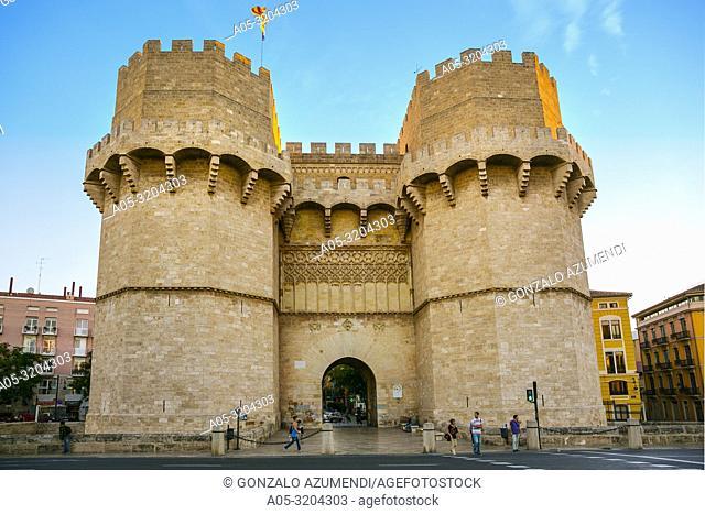 Serranos Towers. Valencia. Comunidad Valenciana. Spain