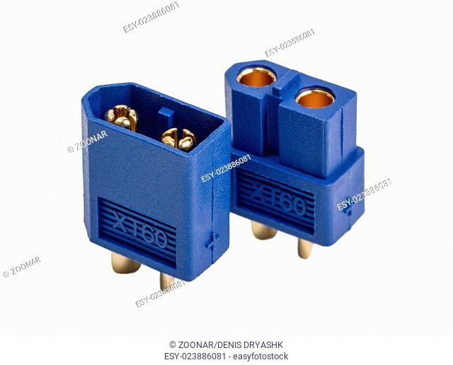 Low voltage powerful connector industrial standard