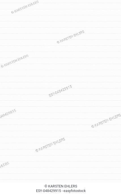 Empty striped seamless white paper background texture with lines for writing