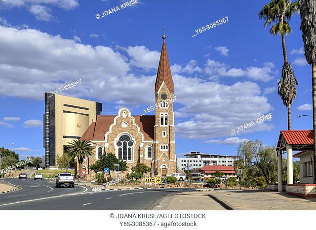 Windhoek, Christuskirche, Namibia, Africa