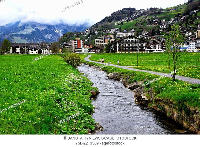 Engelberg is a resort in the canton of Obwalden, Switzerland