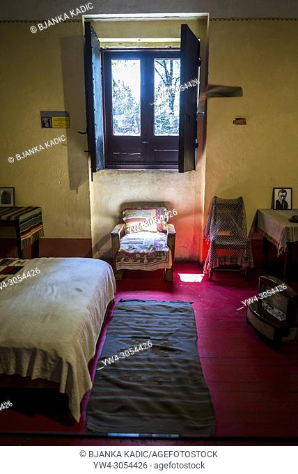 Trotsky's bedroom, Leon Trotsky Museum, Coyoacan, Mexico City, Mexico