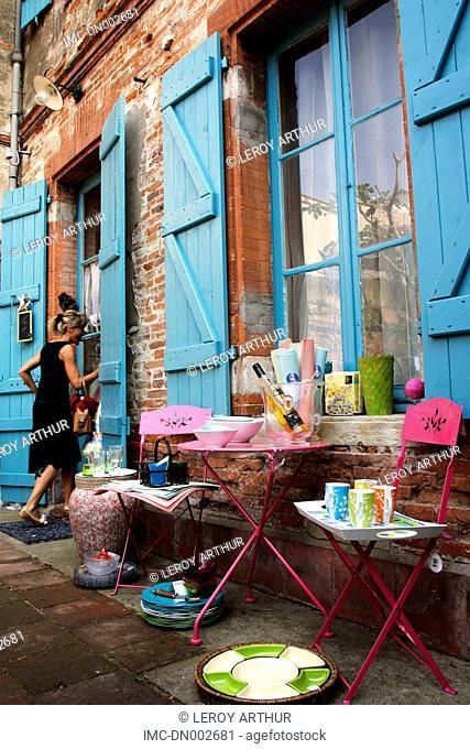 France, Languedoc, Toulouse, shop