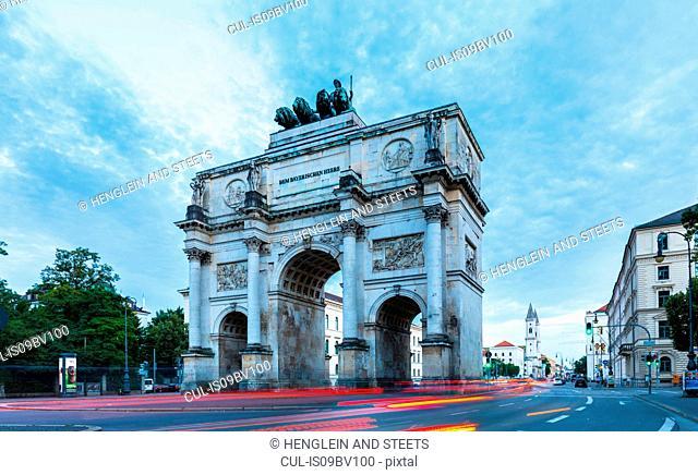 Siegestor Victory Gate, Munich, Germany