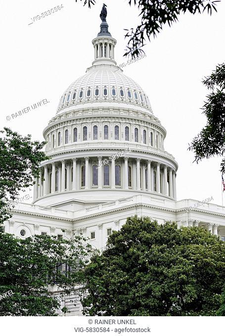 USA : Capitol in Washington , 21.05.2017 - Washington, District of Columbia, USA, 21/05/2017
