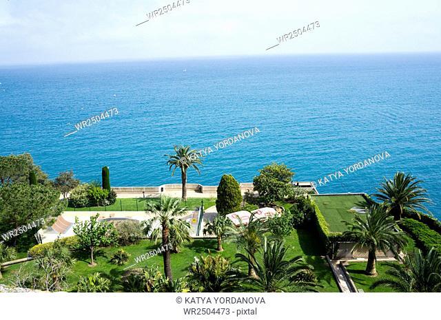 Monaco green park, Monte Carlo