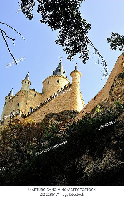Alcázar. Segovia, Spain