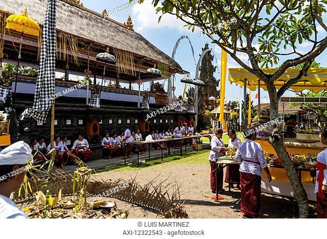 Traditional Hindu temple; Bali Island, Indonesia