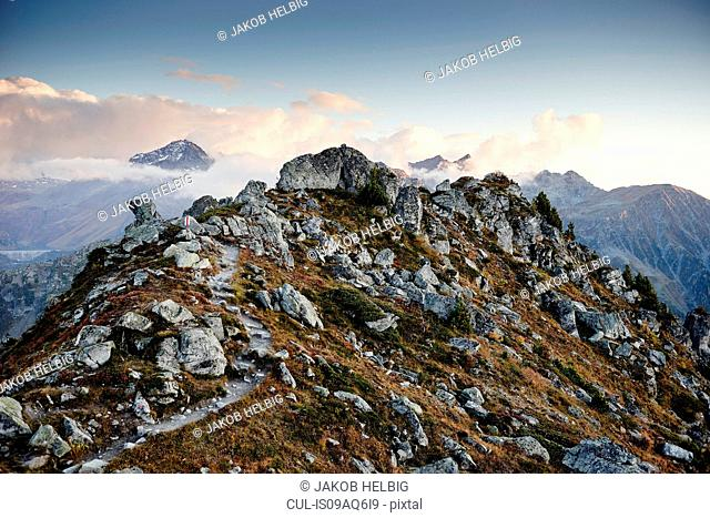Mountains, Valais, Switzerland