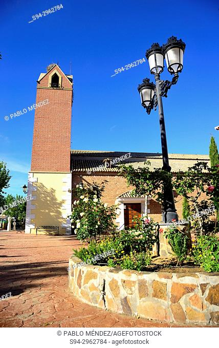 Church of San Pedro Apostol in Burujon, Toledo, Spain