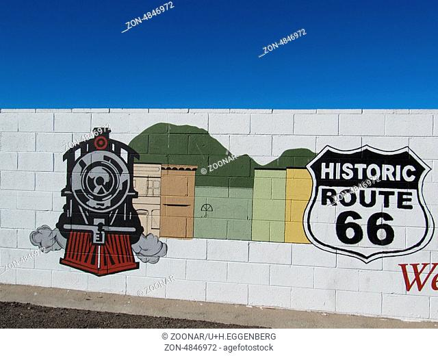 mural route 66