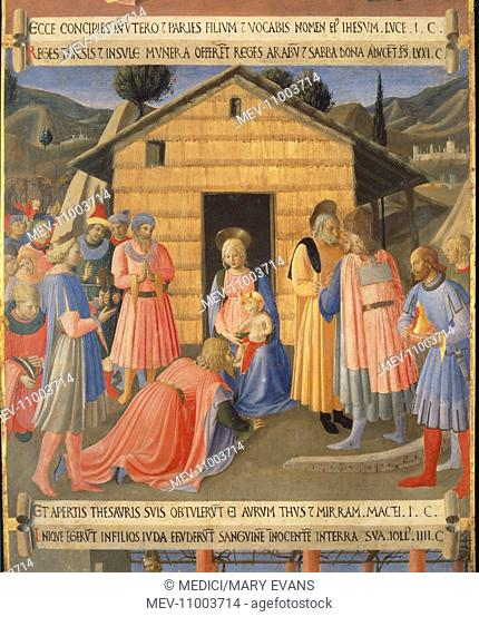 The Adoration of the Magi'