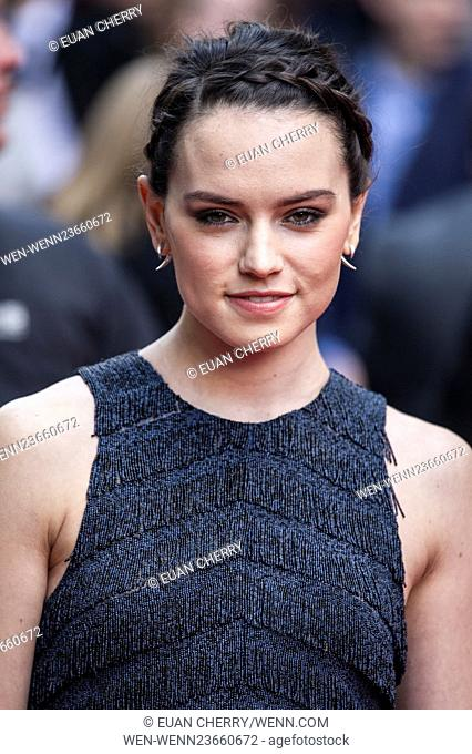 The Jameson Empire Awards 2016 held at Grosvenor House - Arrivals Featuring: Daisy Ridley Where: London, United Kingdom When: 20 Mar 2016 Credit: Euan...