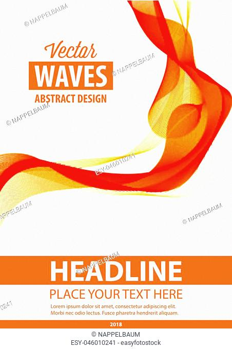 Abstract background. Flyer, brochure, poster, presentation, leaflets, business card, document cover pages, annual report