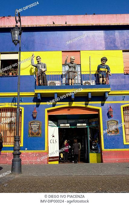 La Boca,Caminito,Buenos Aires,Argentina