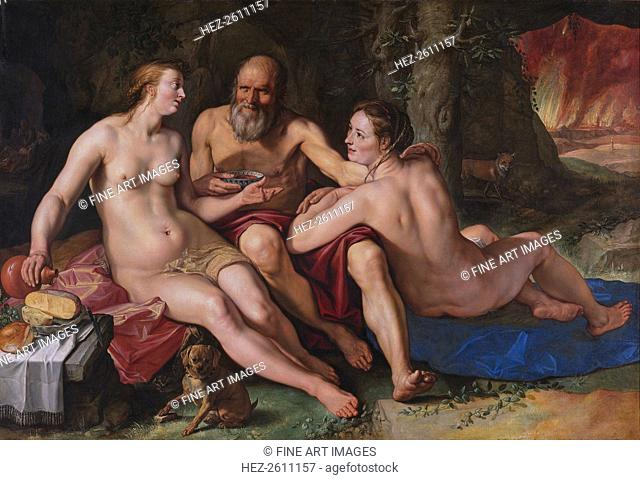 Lot and his Daughters, 1616. Artist: Goltzius, Hendrick (1558-1617)