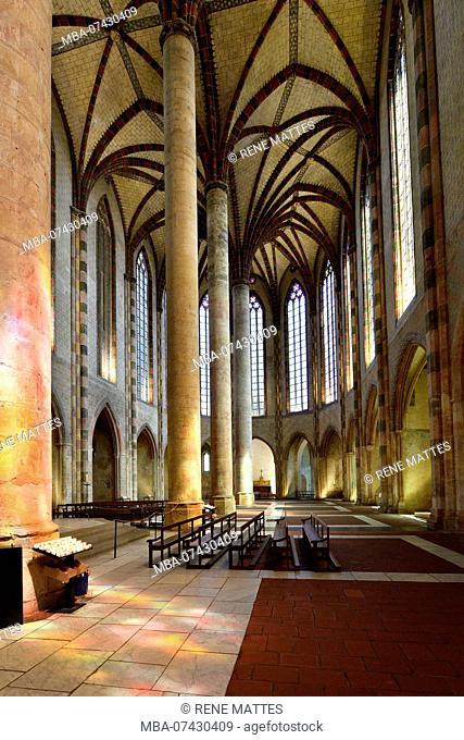 France, Haute Garonne, Toulouse, Jacobin convent, church