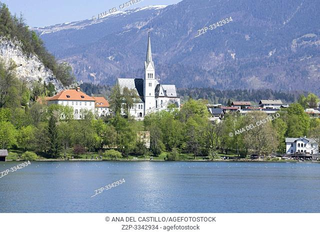 Bled in Slovenia on April 20, 2019