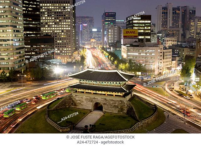 South Gate (Namdaemun), Seoul. South Korea