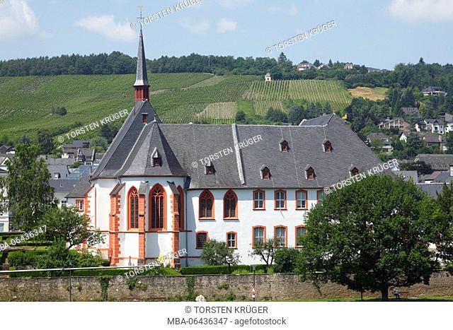 Cusanusstift, St. Nikolaus-Hospital, retirement and nursing home, Bernkastel-Kues, Rhineland-Palatinate, Germany