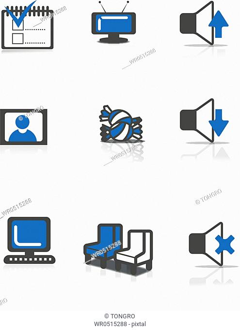 icons of computer devices