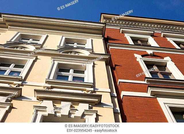 Historic architecture in Frankfurt (Oder), Brandenburg, Germany