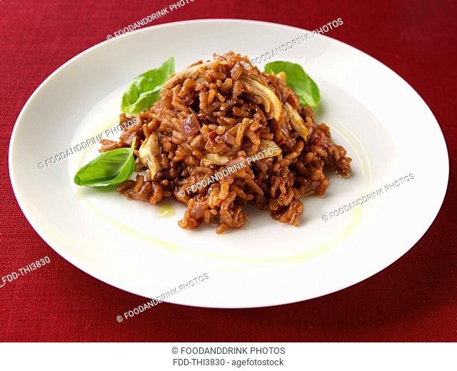 Chicken Paprika Risotto
